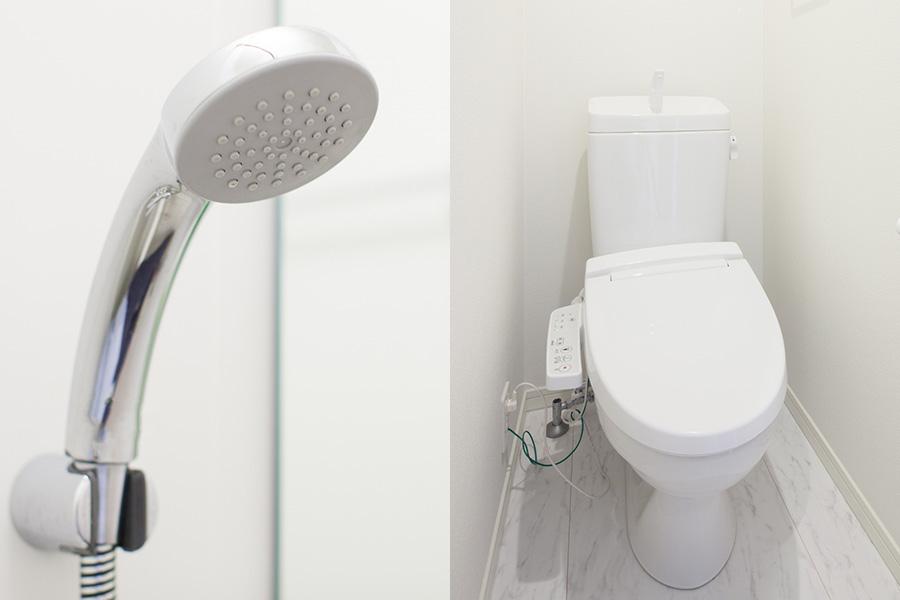 個別トイレ・シャワー